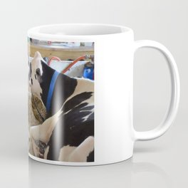 Pair Of Black And White Cows 2 Coffee Mug