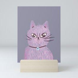 Strange cat Mini Art Print
