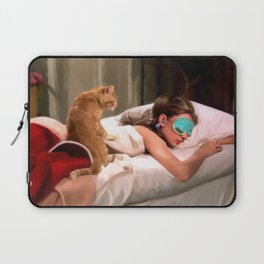 Audrey Hepburn #4 @ Breakfast at Tiffany's Laptop Sleeve
