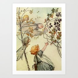 """Bother the Wind"" by Duncan Carse Art Print"