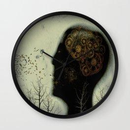 Rusty Gears Wall Clock