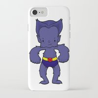 xmen iPhone & iPod Cases featuring BEAST by Space Bat designs