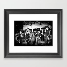 The Derelicts, Kexp performance 2017 Framed Art Print