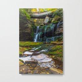 Blackwater Falls Waterfall Metal Print
