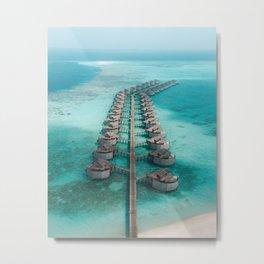 Maldives Metal Print