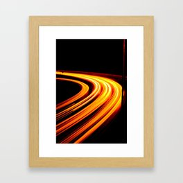 Light Games III Framed Art Print