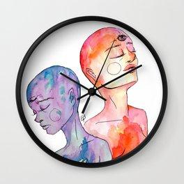 Tu Fui Ego Eris Wall Clock