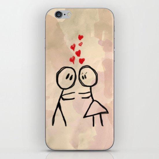 Kiss me ! iPhone & iPod Skin