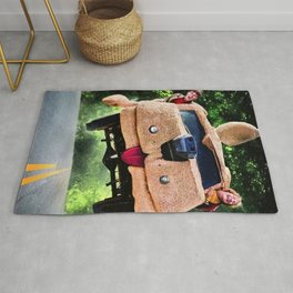 Dumb and Dumber gift Canvas Rug