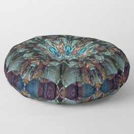 Mandala of aristocracy Floor Pillow