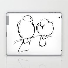 Bird Couple Laptop & iPad Skin