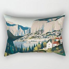 Alone in Nature - Les Cévennes Rectangular Pillow