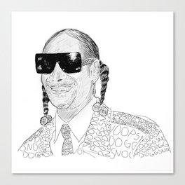 Snoop Dogg Canvas Print