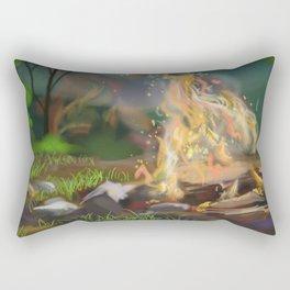 Embers Rectangular Pillow