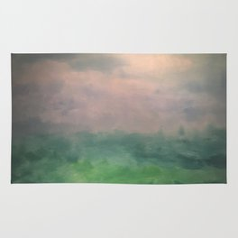 Valley of Dreams - Abstract nature Rug