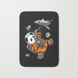 Panda Bear Space Astronaut Cosmic Animal Bath Mat