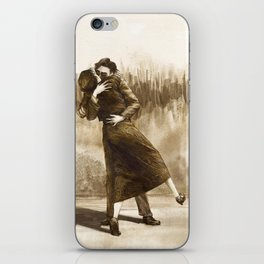 Bonnie & Clyde Levihan iPhone Skin