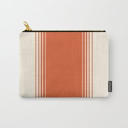 Marmalade & Crème Vertical Gradient Carry-All Pouch
