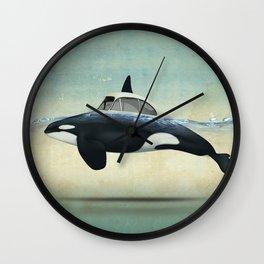 killer car Wall Clock