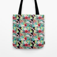 rockabilly Tote Bags featuring rockabilly mix by kociara