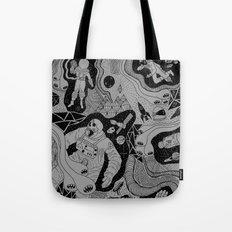 Cosmic Atomic  Tote Bag