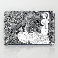 spanish iPad Cases featuring spanish dancer by ZINAVARTA