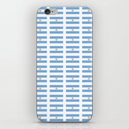 Flag of argentina 2 -Argentine,Argentinian,Argentino,Buenos Aires,cordoba,Tago, Borges. iPhone Skin