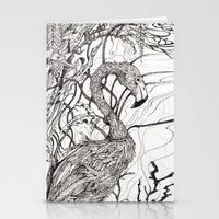 rare Stationery Cards featuring Rare Bird by Shanna Duncan
