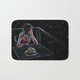 Wait for a Star Bath Mat