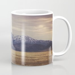 Rustic Mountain Photograph Coffee Mug