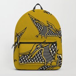 Pterosauria mustard Backpack