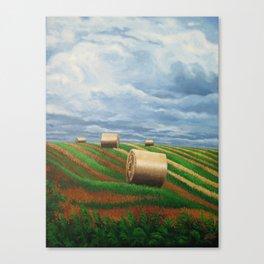Stormy Harvest Canvas Print