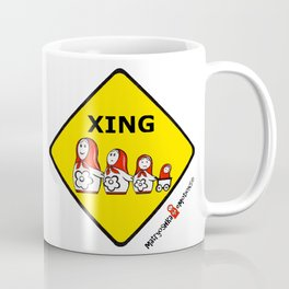 Matryoshka Crossing Coffee Mug