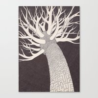 penis Canvas Prints featuring Penis envy by Godpipo's cravings