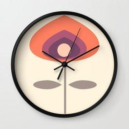 MCM Purple Haze Wall Clock