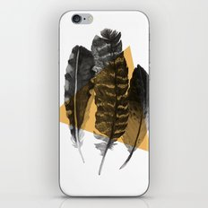 feathers 2 iPhone Skin