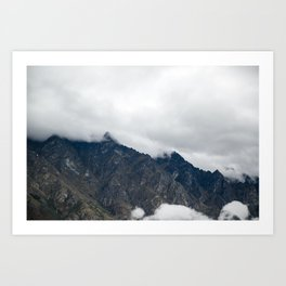 The Remarkables Art Print