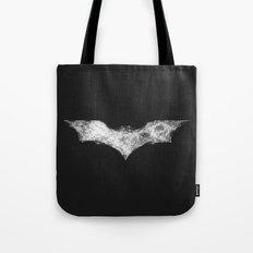 Superhero abstract logo Tote Bag