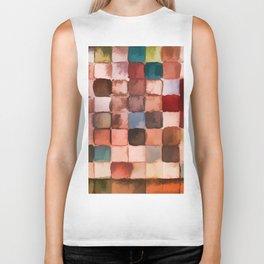 Colorful gift - Geometric watercolor Biker Tank