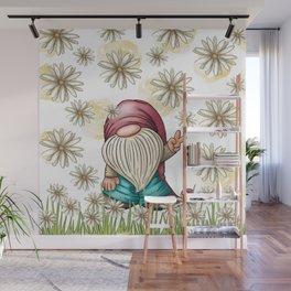 Hippie Gnome Wall Mural