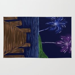 Just Watch the Fireworks Rug