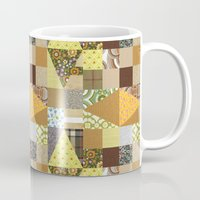 quilt Mugs featuring quilt by notbook