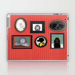 Poodle Parlor Portraits Laptop & iPad Skin
