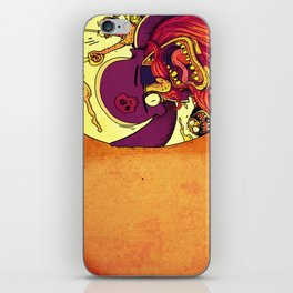 Pirate invitations!! iPhone Skin