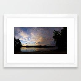 Passing Weather Framed Art Print