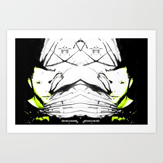 :: black holes and revelations :: double play! Art Print