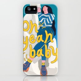 Oh Yeah Baby_CYL Illustration iPhone Case