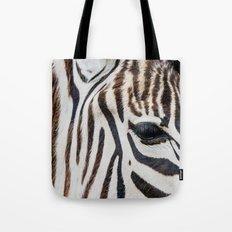 EYE OF THE ZEBRA Tote Bag