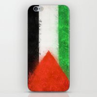 palestine iPhone & iPod Skins featuring Palestine by 2b2dornot2b