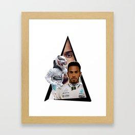 Lewishamiltonn Framed Art Print